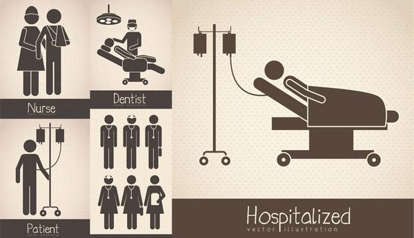 医院护理图示图片