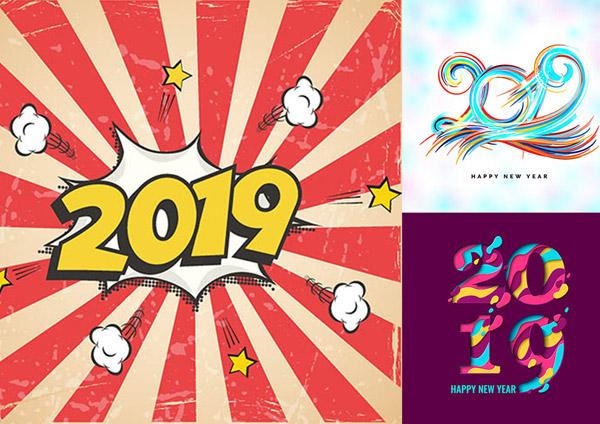素材分类: 矢量春节所需点数: 0 点 关键词: 2019猪年份数字创意设计