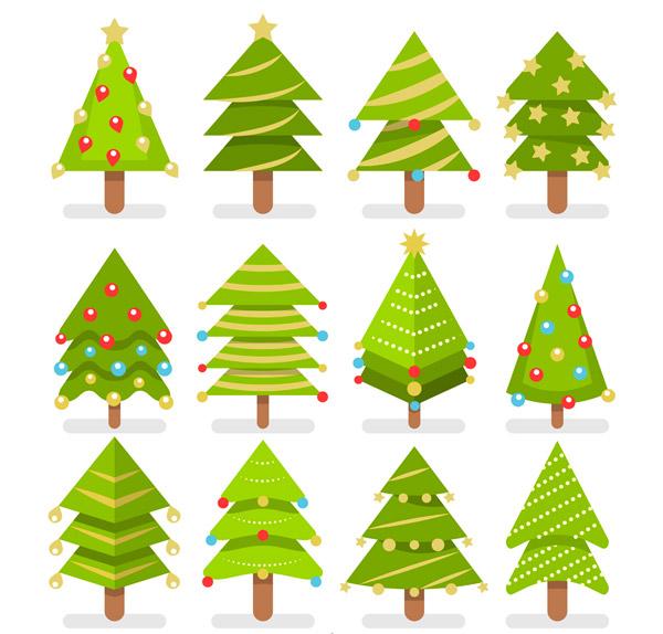 0 点 关键词: 12款扁平化绿色圣诞树矢量素材,扁平化,绿色,圣诞树