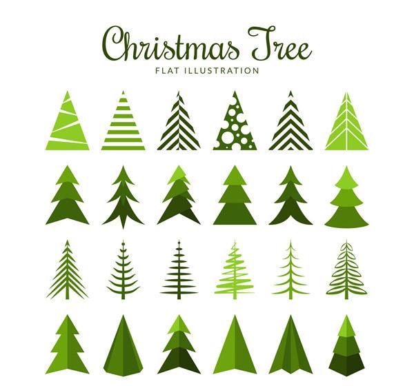 0 点 关键词: 24款扁平化圣诞树设计矢量素材,扁平化,圣诞树,松树
