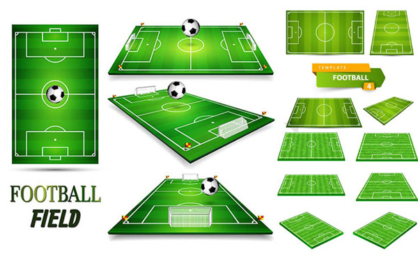 足球场模型