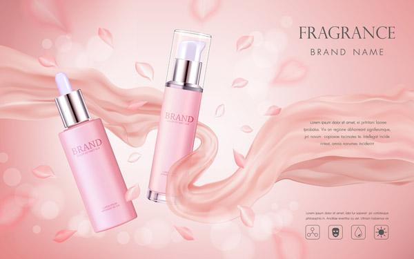 优雅化妆品广告