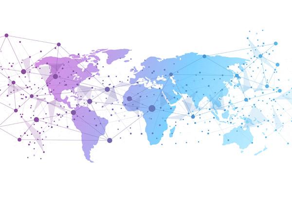 0 点 关键词: 世界网络地图,世界地图,网络联接,地图,矢量图,eps