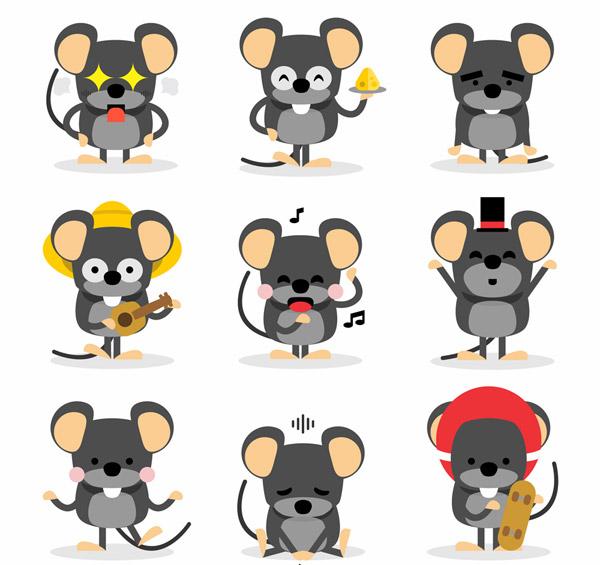 灰色老鼠设计