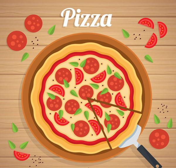素材分类: 矢量美食所需点数: 0 点 关键词: 美味香肠披萨矢量素材