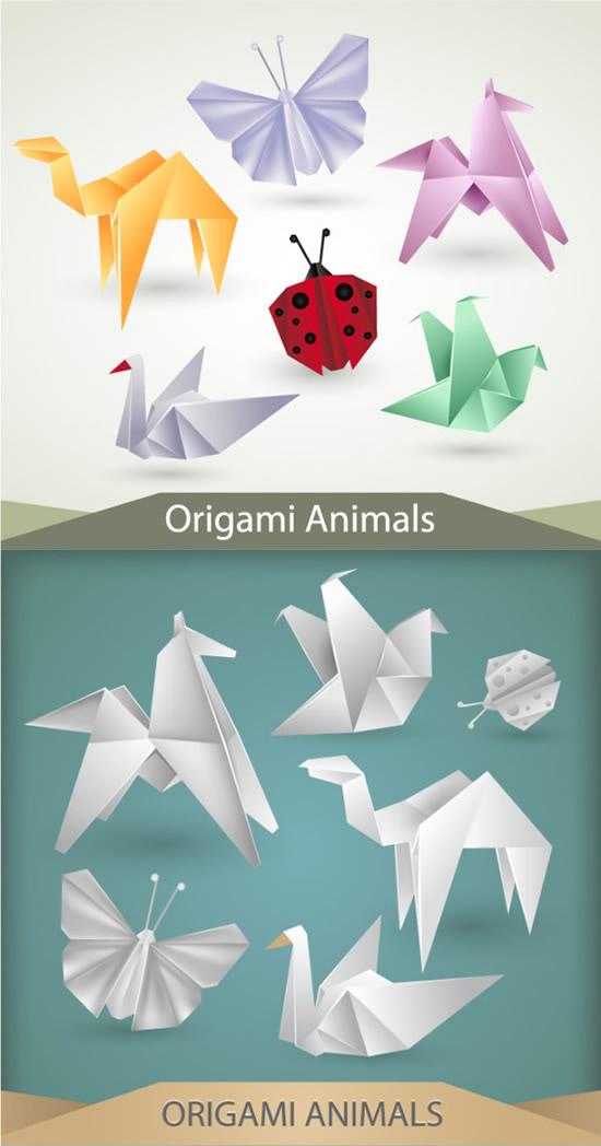 昆虫动物折纸