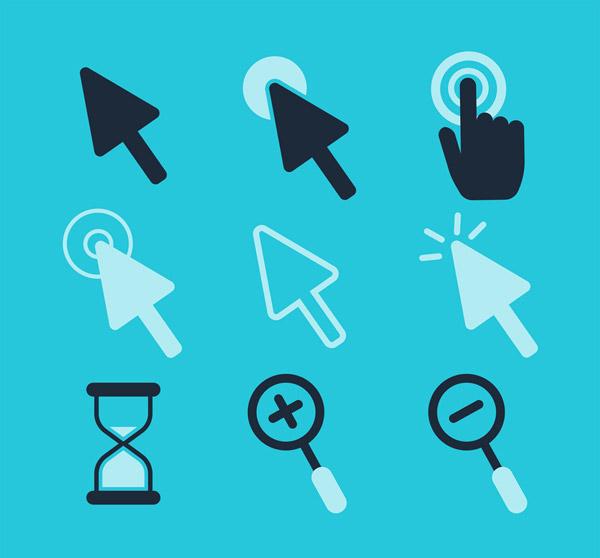 素材分类: 矢量科技所需点数: 0 点 关键词: 9款创意鼠标设计矢量