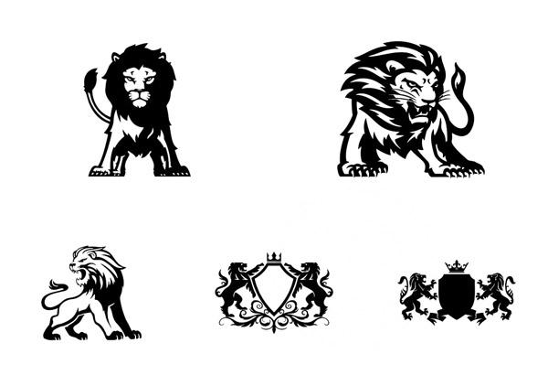 狮子造型标志2