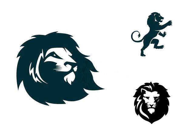 狮子造型标志1
