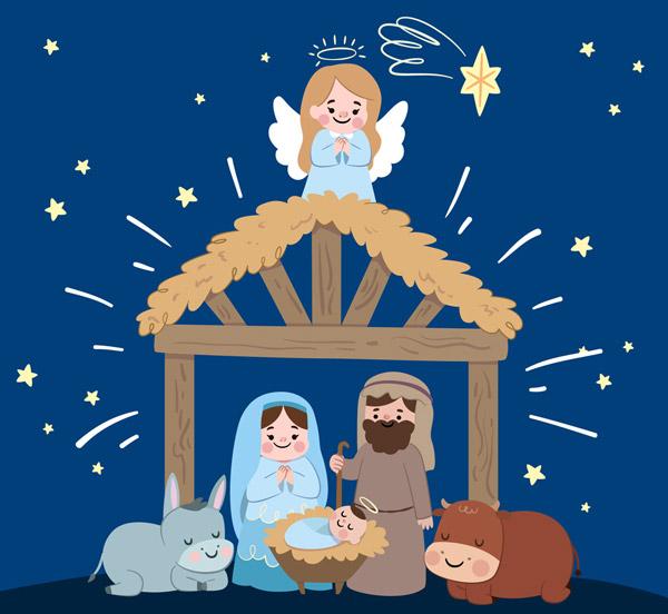 基督诞生场景