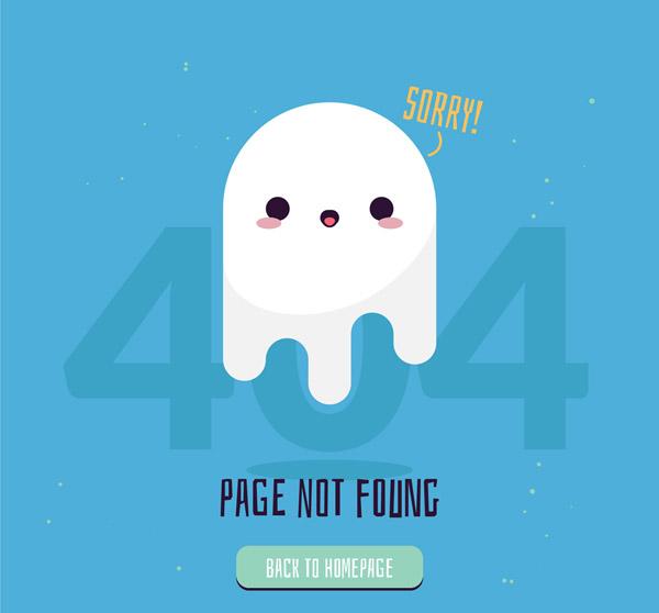 幽灵404错误页面