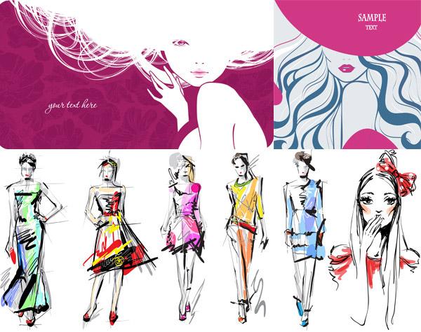 绘画衣服步骤图片