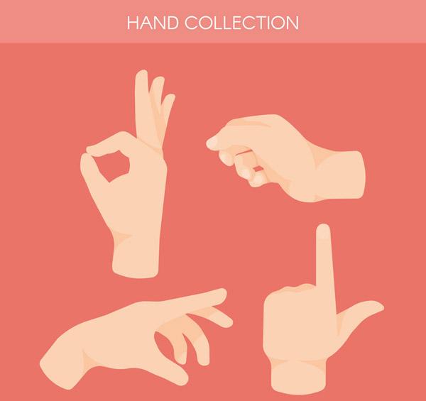 4款创意手势