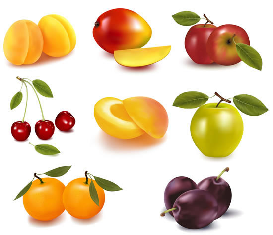 水果种类_素材分类: 矢量水果所需点数: 0 点 关键词: 新鲜时令水果矢量素材