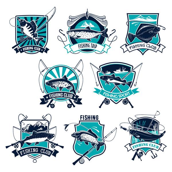 钓鱼俱乐部标签