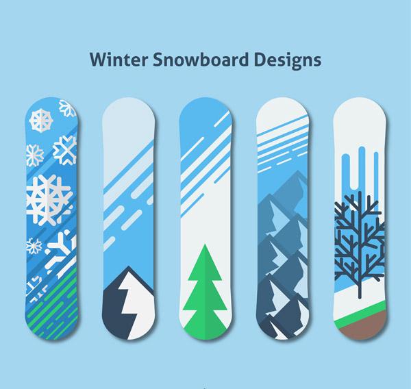冬季�D案�伟寤�雪板