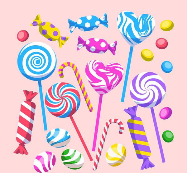 24款彩色糖果