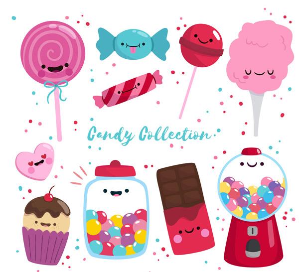 10款可爱表情糖果