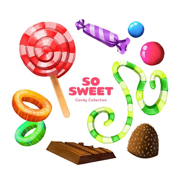 9款彩色美味糖果