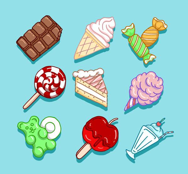 9款彩绘甜食
