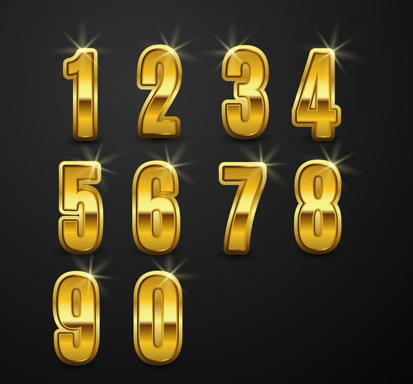 创意金属数字