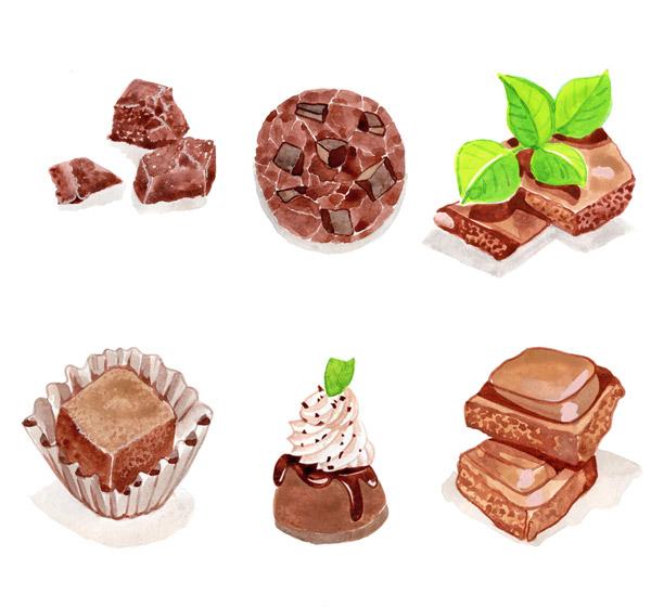 彩绘美味巧克力