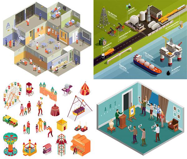 石油工业与游乐设施