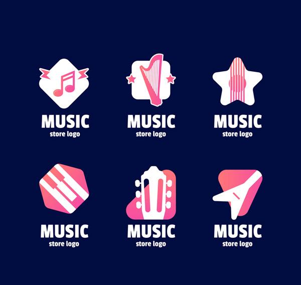创意音像店标志