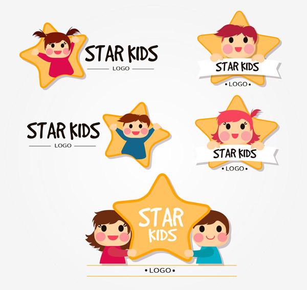 儿童明星标志