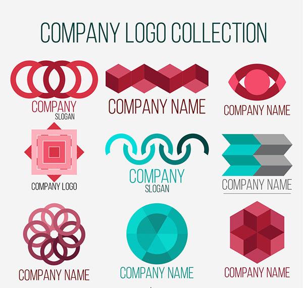 彩色创意公司标志