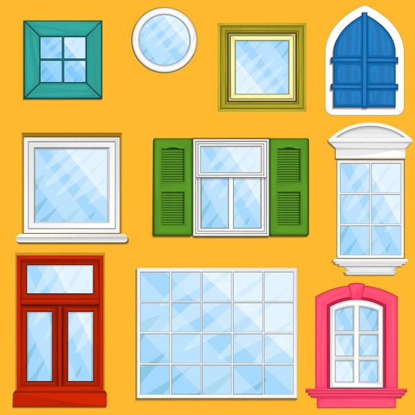 彩色窗户设计