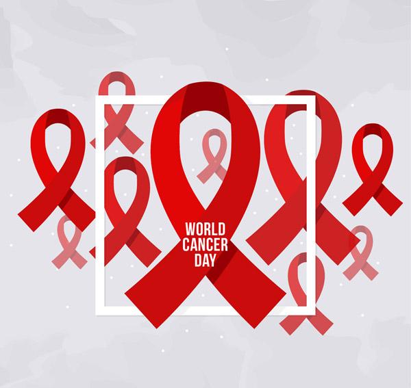 世界癌症日丝带