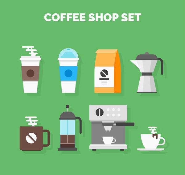 咖啡店物品