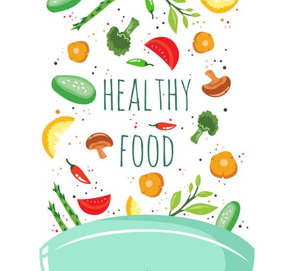 锅中的健康食材