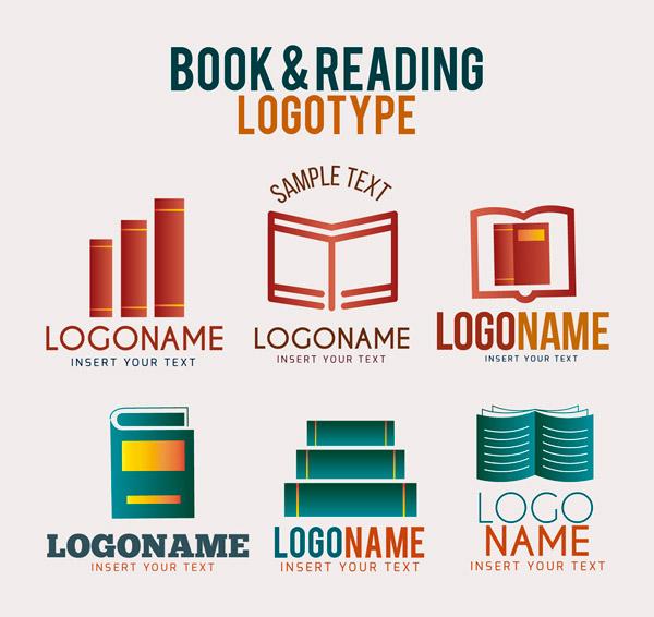 创意书籍标志
