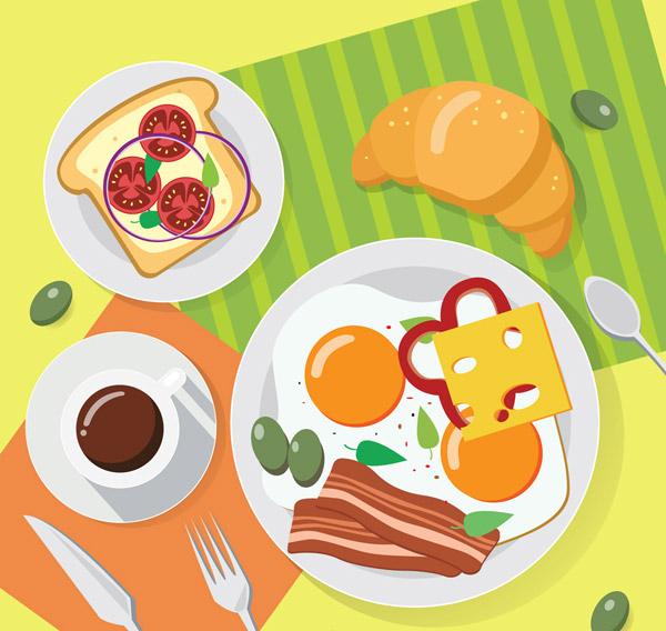 创意健康早餐