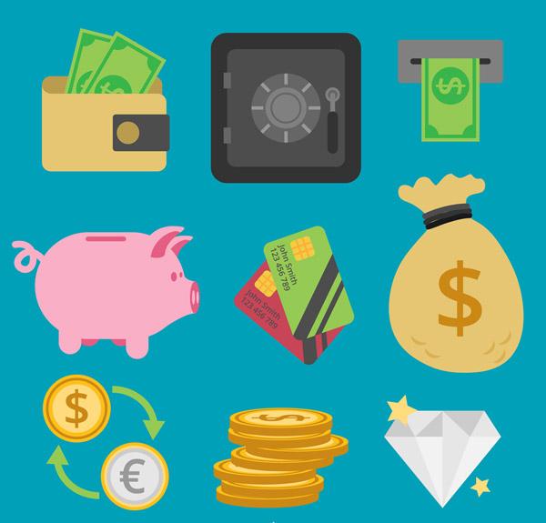 金融图标设计