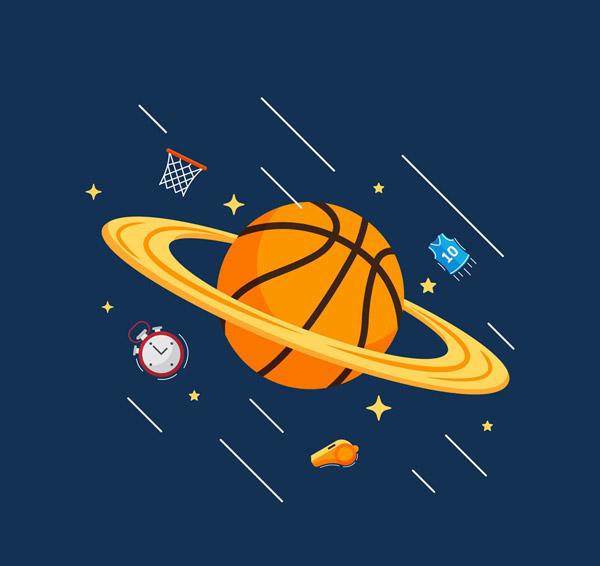 篮球星球设计