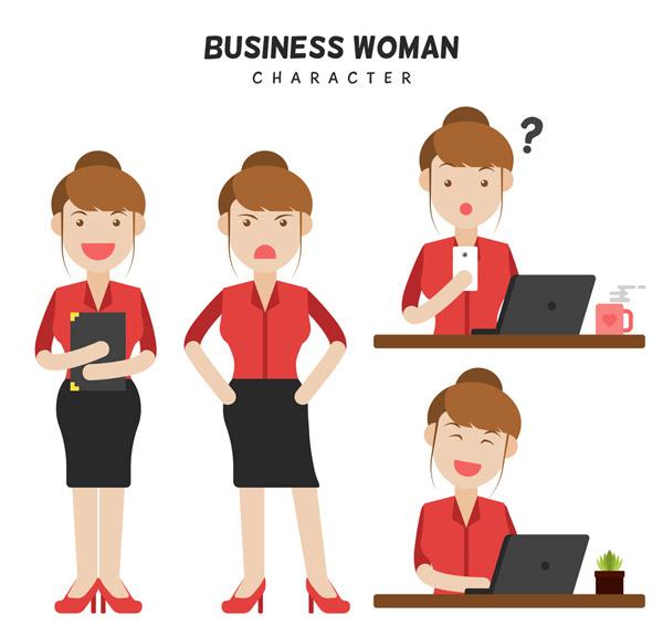 创意商务女子