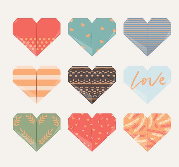 创意折纸爱心