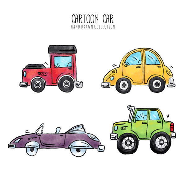 彩绘卡通车辆