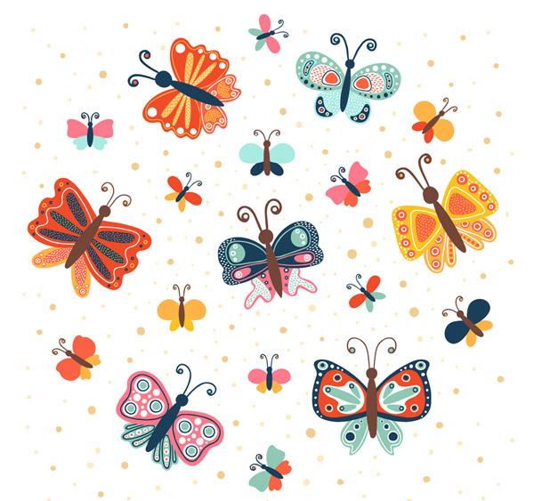 彩色蝴蝶设计