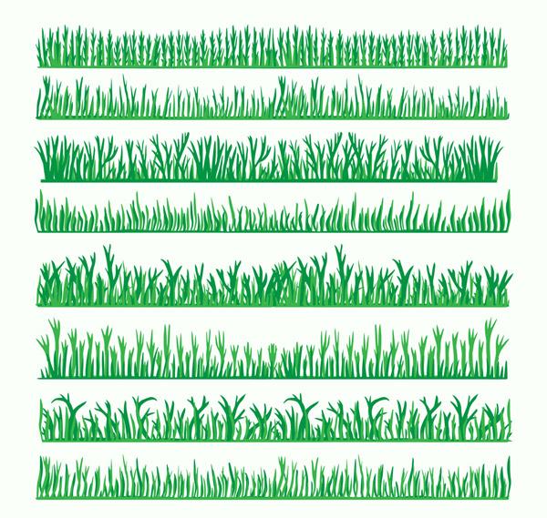绿色草丛设计