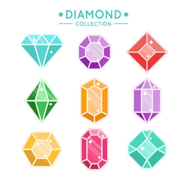 9款彩色宝石