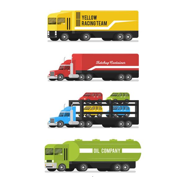 彩色运输车设计
