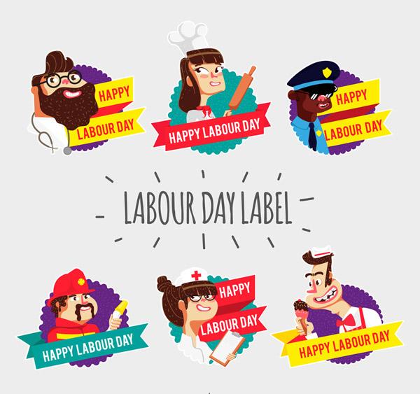 劳动节人物标签