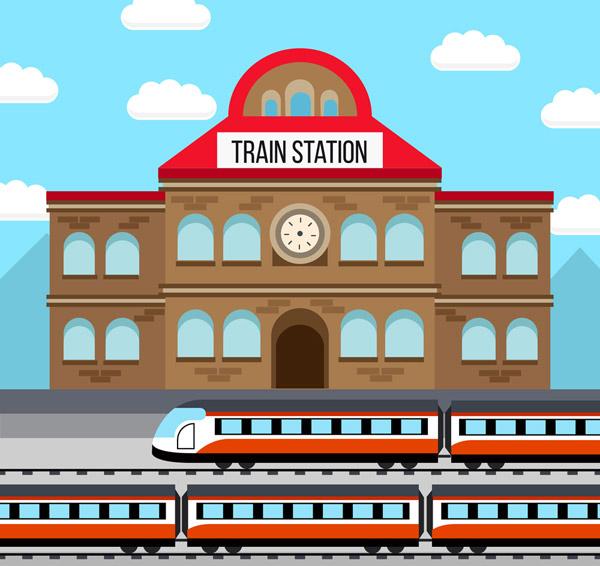 创意火车站设计