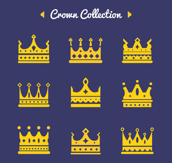 金色王冠图标