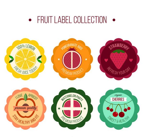 创意水果标签