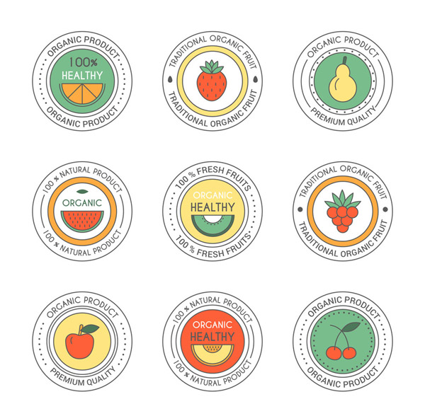 水果制品标签